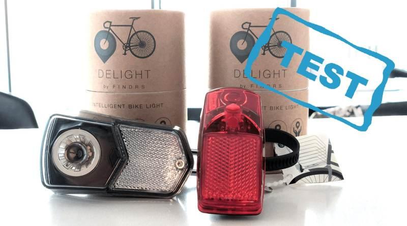 Delight by FINDRS test bedste cykellygte år automatisk lys på cyklen bremselys gode