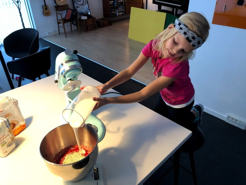 prinsesseboller grovboller med rødbede børnefødselsdag lækre boller morgenboller god opskrift på