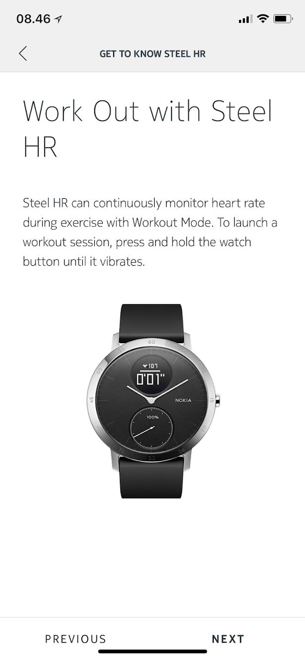 Test nokia steel hr anmeldelse af er det godt god batteritid træningsur fitnessur fitness ur hvad skal jeg vælge nokia steal hr heart rate monitor swimming