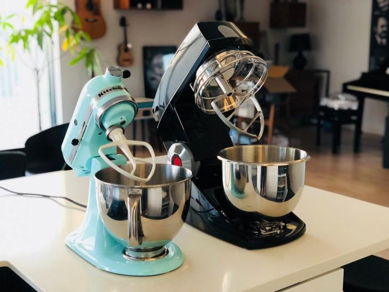 Test af Teddy Bjørn Varimixer anmeldelse review video ekstra udstyr erfaring pengene værd bedst i test tænk bedste køkkenmaskine røremaskine lille bjørn