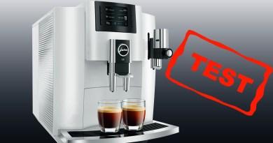 Jura E8 test af review anmeldelse af JURA E80 automatisk kaffemaskine god fuldautomatisk