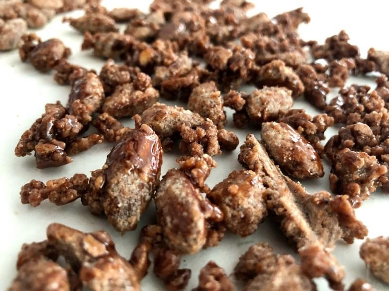 brændte mandler hjemmelavede karamel mandler karameliserede sukker julemandler sukkermandler opskrift på sådan laver du hvordan laver man