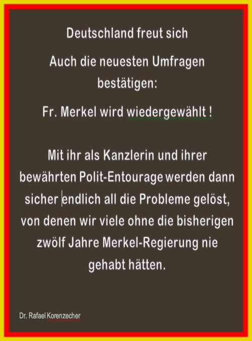 Merkel wiederwahl