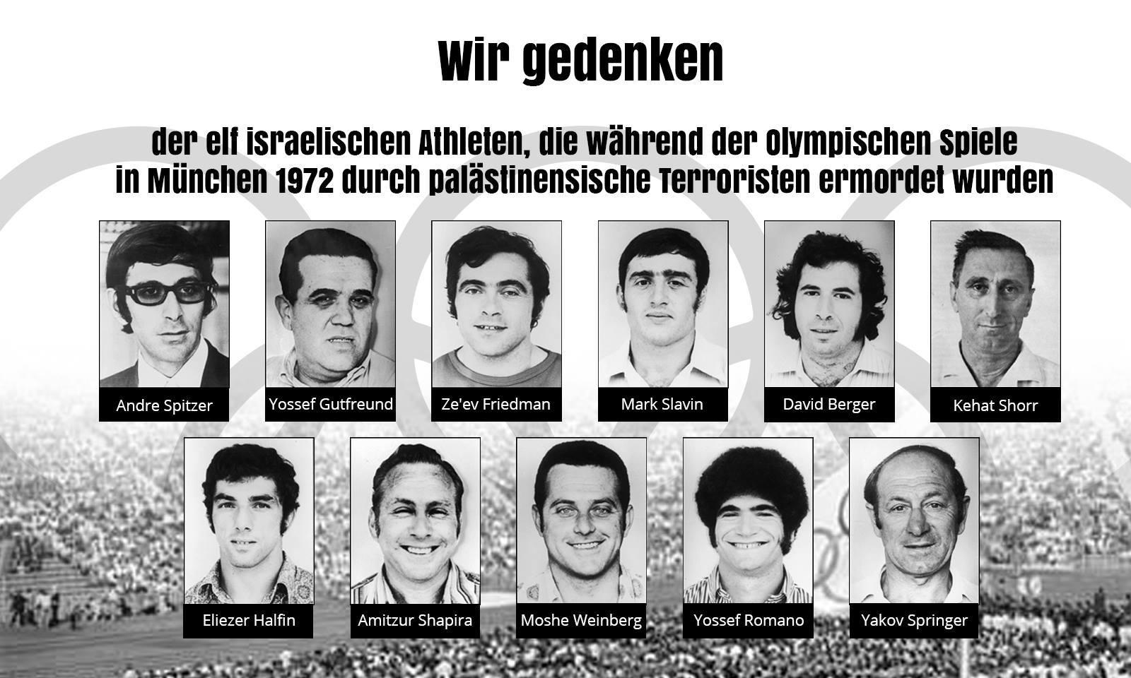 olympia mannschft israel 1972