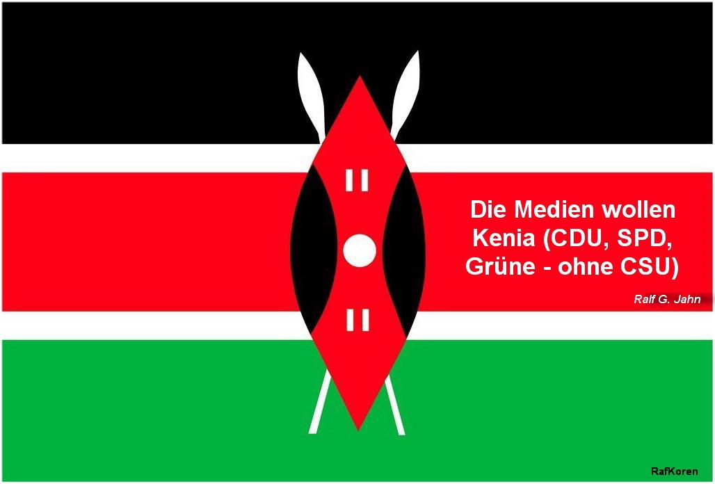 kenia flagge