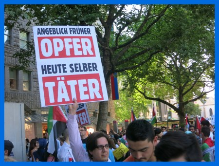 linke nahost demo a