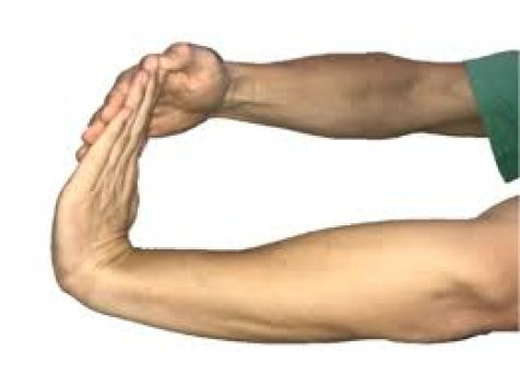 Wrist stretching exercise