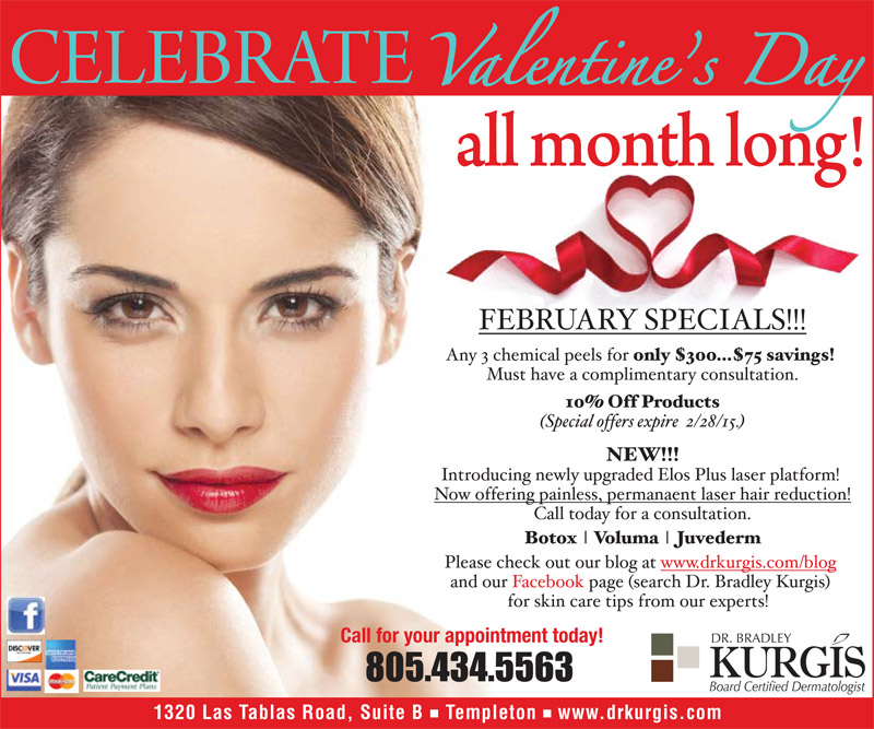Celebrate Valentines Day All Month Long Dr Kurgis
