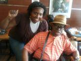 BH4YP former student Naeemah Webb with Dr. Ben in Harlem
