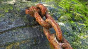 links of chain making things difficult