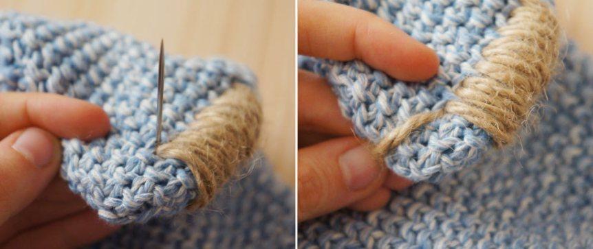 Cómo personalizar un cojín de forma fácil · How to customize a cushion the easy way | Blog DIY decoración
