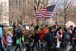 'Forward On Climate': No KXL and US Flag