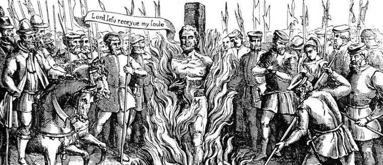 The Burning of Bishop John Hooper