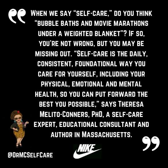 Nike self-care with Dr. MC
