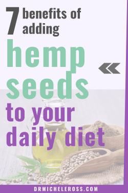 hemps seeds and hemp oil containing CBD