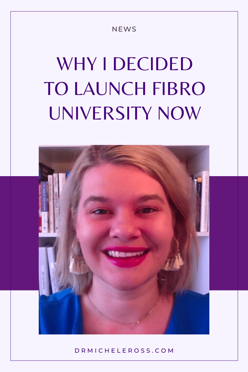 Why I Decided To Launch Fibro University Now