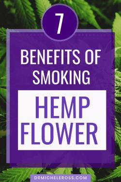 health benefits of smoking cbd joints from hemp flower