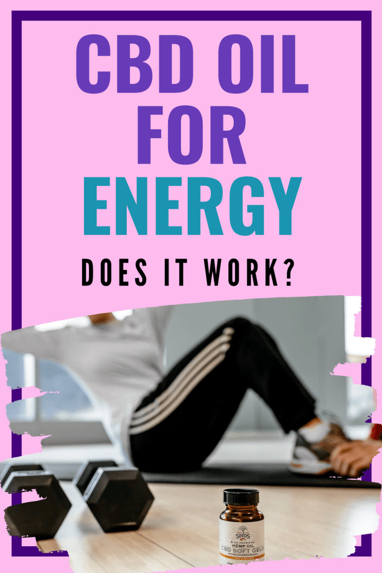 woman working out because she has energy from cbd