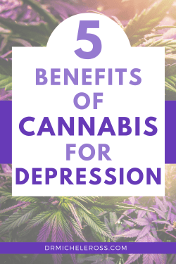 medical marijuana relieves depression