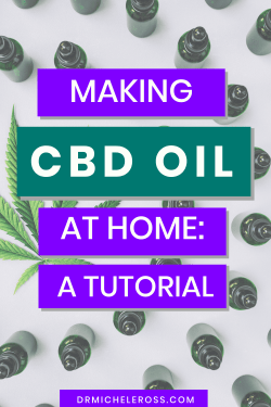 learn how to make infused cbd oil from hemp flower at home