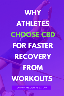 female athlete jumping over high bar after taking cbd