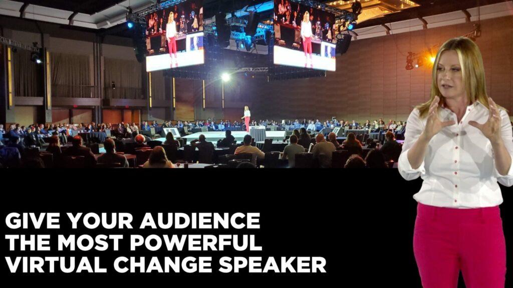 virtual change speaker