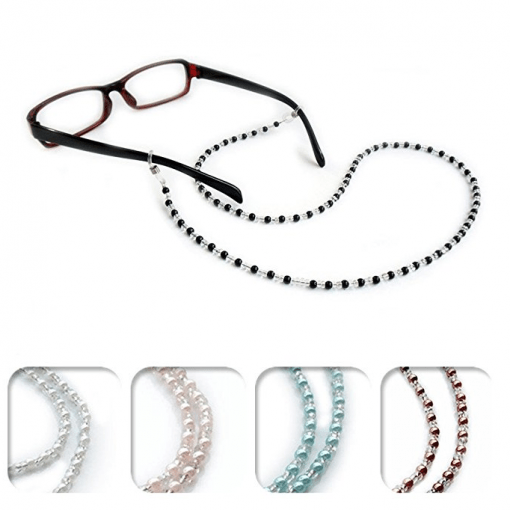 Kalevel Eyeglass Chain Holder Glasses Strap Eyeglass Chains and Cords for Women