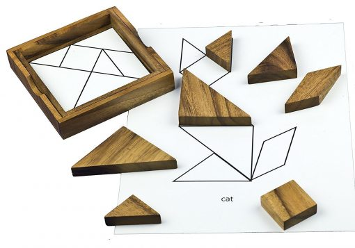 Keeping Busy Wooden Tangram Dementia