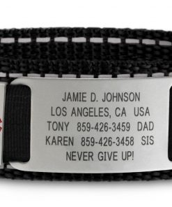 Road ID Personalized Medical Alert Bracelet