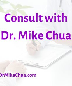 Consult with Dr. Mike Chua