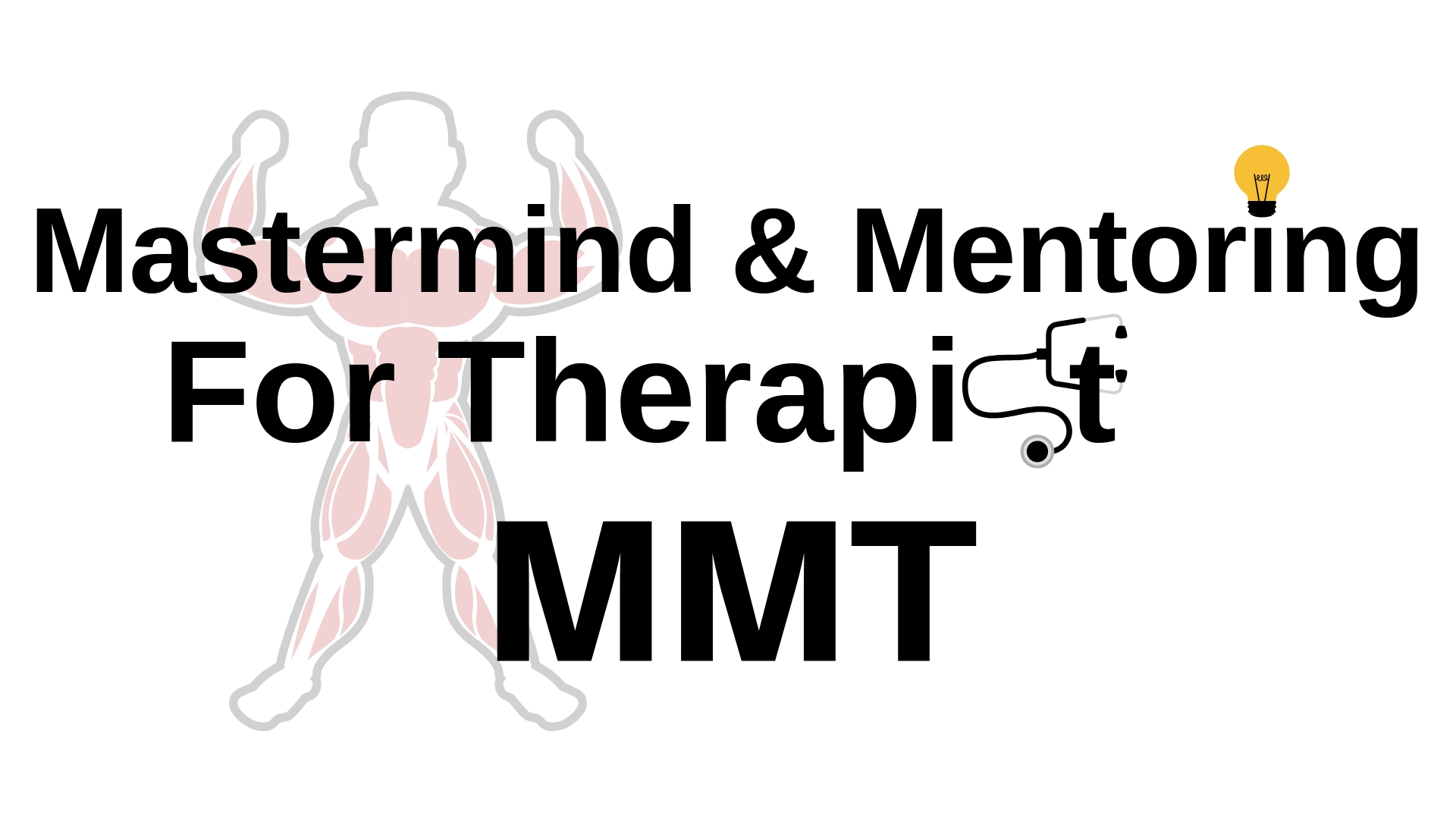 Mastermind and mentoring for therapist