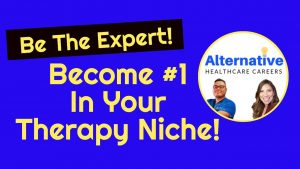 become expert in therapy niche