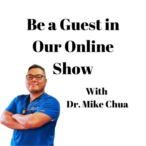 Be a Guest in Our Online Show