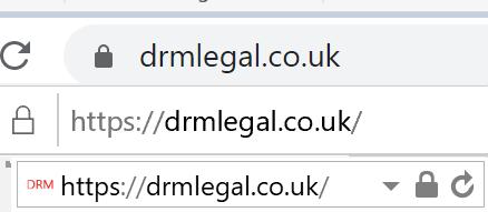 DRM Legal - secure site