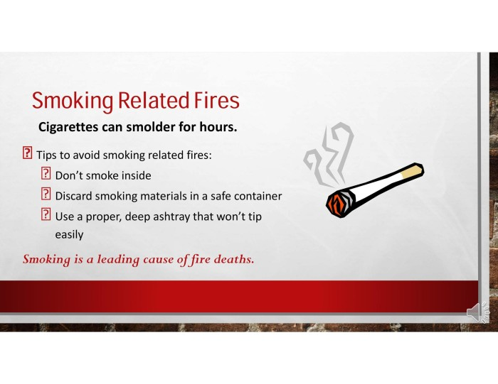 Smoking Related Fires  Carbondale  Rural Fire Protection