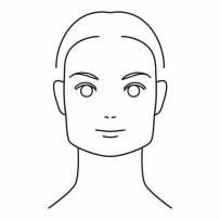 Kwadratowy kształt twarzy na skutek bruksizmu