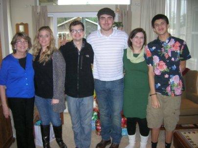 Sheila & family Christmas 2013DSCN2565