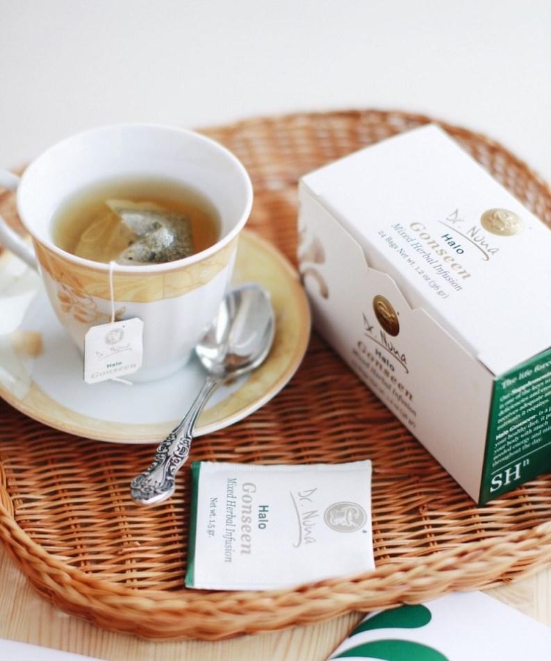 Детокс-чай Гало Гонсин Доктор Нона фото