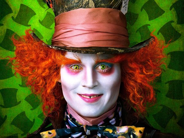 Johnny Depp Mad Hatter Alice