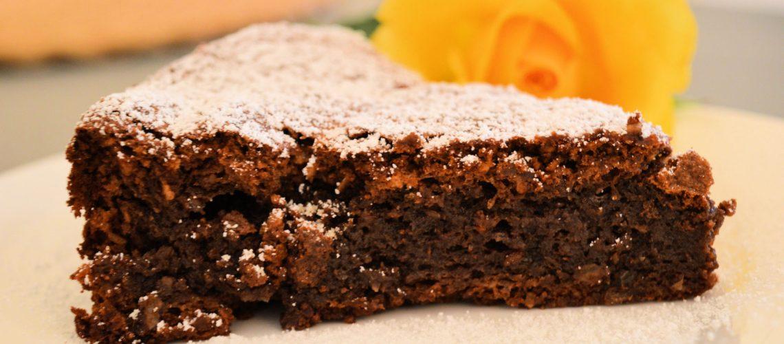 Ciasto Orzechowo-Czekoladowe bez mąki