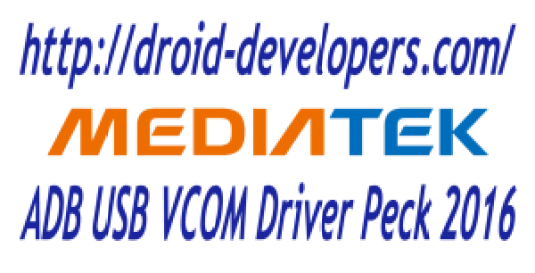 Mediatek ADB USB VCOM Driver Peck