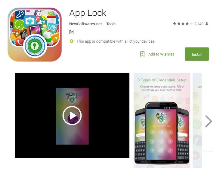 App Locker to Best Security password