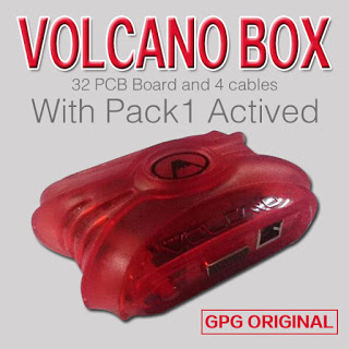 volcano box red