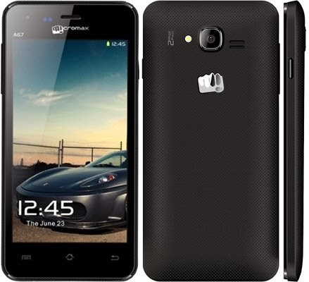 Micromax A67 upgrade Firmware
