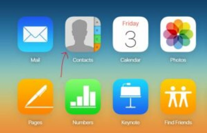 icloud contacts