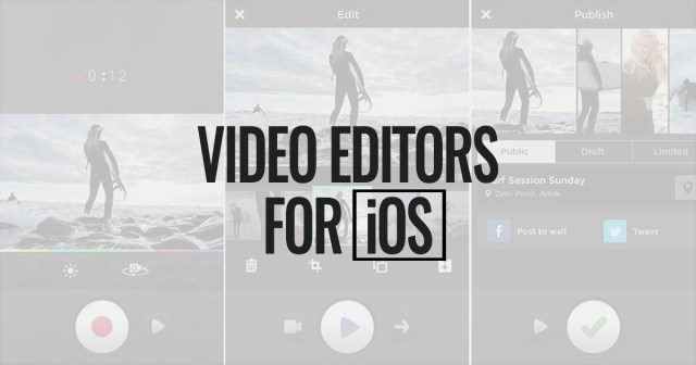 Best Video Editors for iOS
