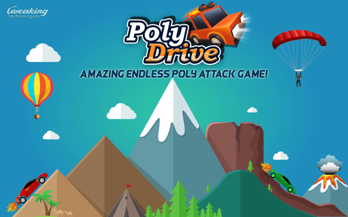 poly drive game