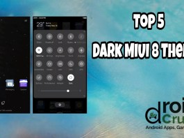 top 5 miui 8 dark themes
