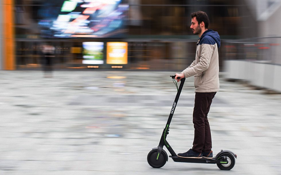 Archos Announced an Android-powered electric Scooter
