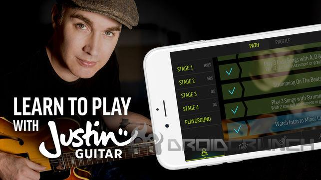 justin guitar droidcrunch